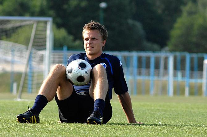 Йеспер Гронкьяер приезжал в Борисов, но сыграл всего 10 минут.