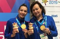 художественная гимнастика, Лаура Зенг, сборная Беларуси (художественная гимнастика), Ирина Лепарская, Виталий Щербо