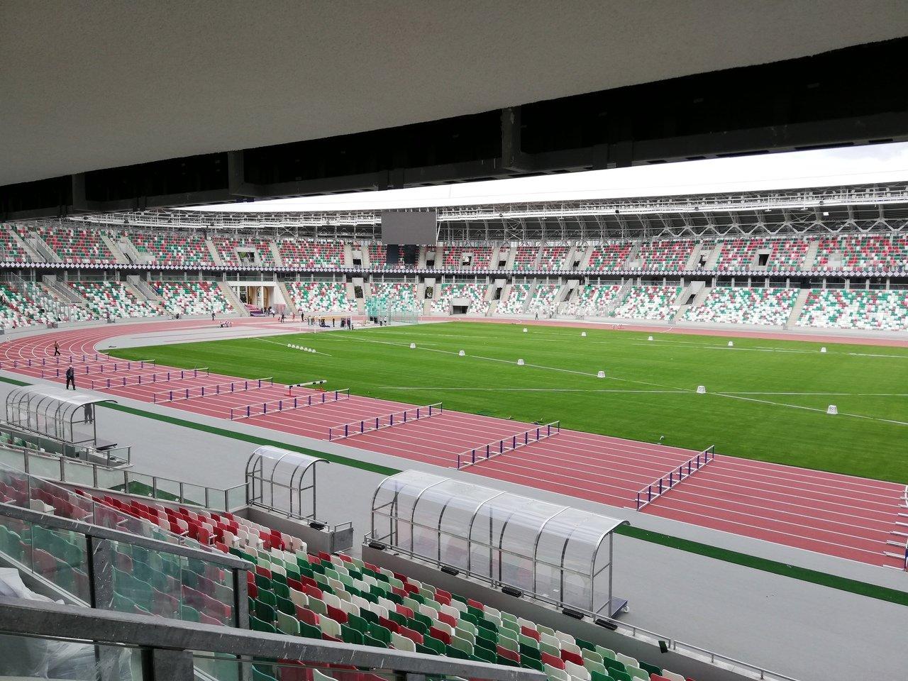Схема стадиона динамо минск фото 553