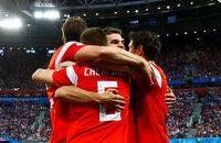 чемпионат мира, Сборная Египта по футболу, Сборная России по футболу