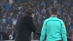 Rudi Garcia pulls out his phone to show the linesman - Create, Discover and Share GIFs on Gfycat