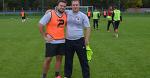 Как болельщики Александр и Роман приняли участие в тренировке «Крумкачоў»