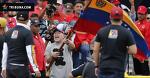 Марадона пляшет на митинге в Венесуэле, агитируя за Мадуро. Почему-то не в атрибутике брестского «Динамо»