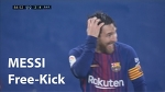 RSO vs Barcelona / Messi Free Kick / La Liga / Match day 19 / 14 Jan 18