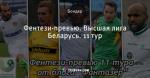 Фентези-превью. Высшая лига Беларусь. 11 тур