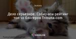 Дело серьезное. Собираем рейтинг топ-10 блогеров Tribuna.com