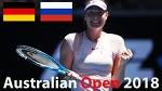 Maria vs Sharapova ))) / Australian Open 2018 / Round of 128