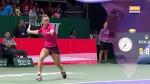 Halep vs Wozniacki Highlights / WTA Finals / Singapore 2017 / Group stage