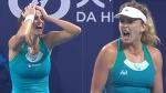Vandeweghe vs Goerges Best rally / WTA Elite Trophy 2017 / Final