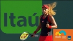 Williams vs Osaka Best Rally and Interview / Miami Open 2018 / Round of 128