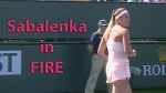 Sabalenka in FIRE / Sabalenka vs Kuznetsova Highlights / BNP Paribas Open 2018 / Round of 64
