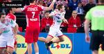 Беларусь показывает свой самый качественный гандбол на турнире, но уступает хорватам