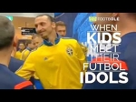 What Happened When The Kids Meet Their Football Idols