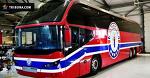 «Юность» продает тюнингованный автобус: он очень крутой и стоит, как самосвал БелАЗ