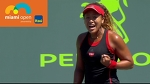 Osaka vs Svitolina Best Rally / Miami Open 2018 / Round of 64