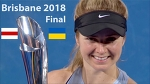 Sasnovich vs Svitolina Highlights / Brisbane International 2018 / Final