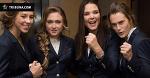 Американки и белоруски соревновались в нарядах и кто лучше станцует «Лявониху». Ну, и кто победил?