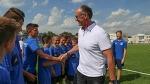 Юрген Колер посетил Академию Динамо-Брест - Футбольный клуб Динамо-Брест