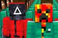 Minecraft, Моды на Майнкрафт, Моды, Игра в кальмара
