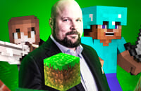 Симуляторы, Mojang AB, Mojang Studios, Microsoft, Minecraft, Маркус Перссон