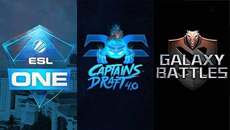 Captain's Draft, Galaxy Battles, ESL One Genting
