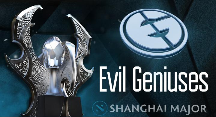 Evil Geniuses, The Shanghai Major, Питер «Ppd» Дагер, Артур «Arteezy» Бабаев, Саид Сумаил «SumaiL» Хассан, Клинтон «Fear» Лумис, Саахил «UNiVeRsE» Арора