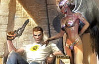Девушка дня, Serious Sam 4: Planet Badass, Serious Sam, Devolver Digital, Steam