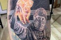 Татуировки, Natus Vincere, Данил «Zeus» Тесленко