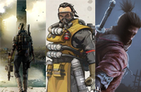 Apex Legends, Artifact, Dota Auto Chess, Sekiro: Shadows Die Twice, Tom Clancy's The Division 2, DreamLeague Season, WESG