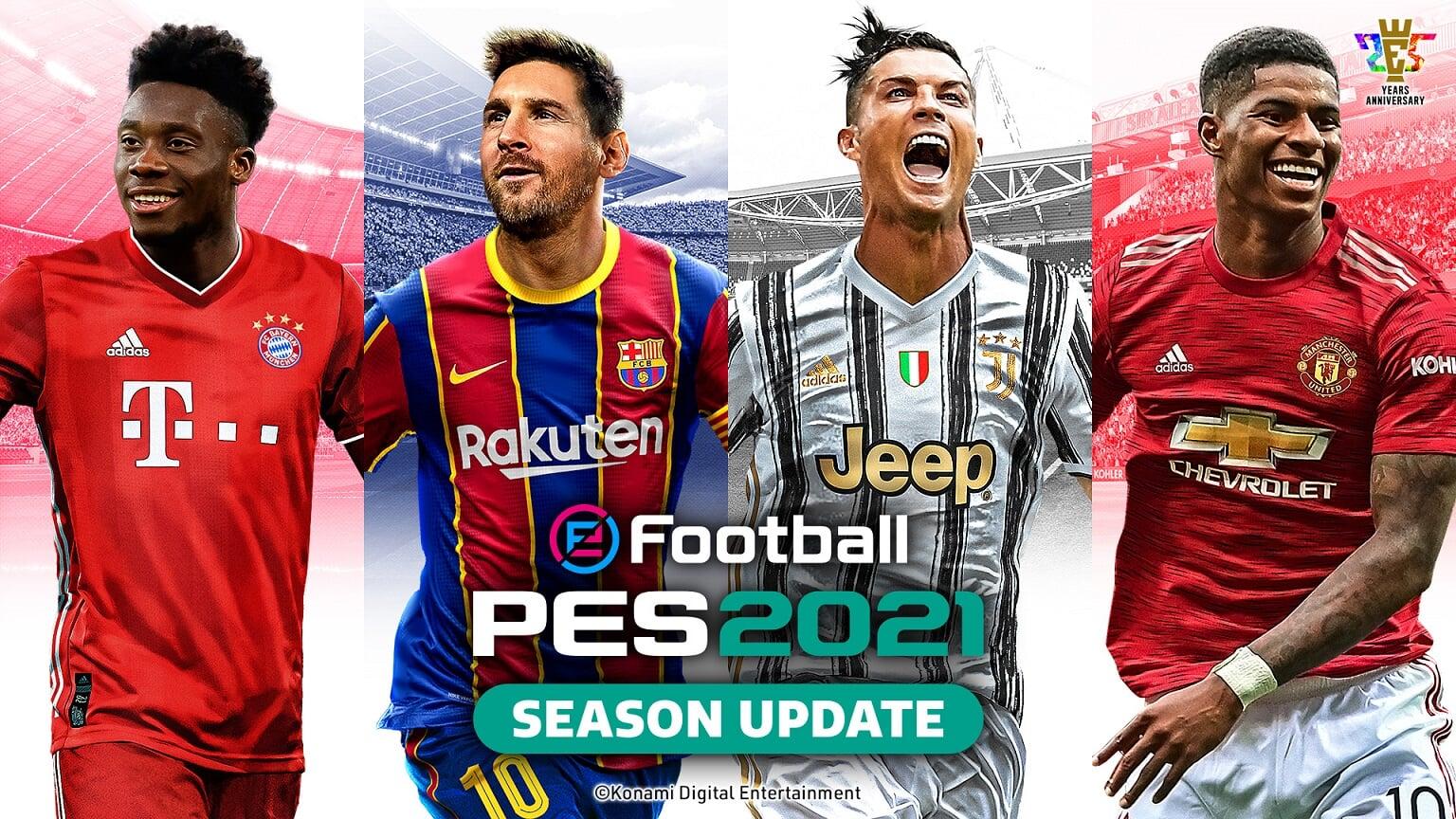 Месси и Роналду попали на обложку PES 2021 - Игры - Cyber.Sports.ru