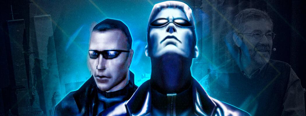 Великая Deus Ex: настоящий киберпанк из нулевых