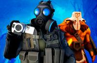 Uncharted, Dota 2, Counter-Strike: Global Offensive