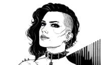 арт, Cyberpunk 2077, Ведьмак 3: Дикая Охота, CD Projekt RED, Шутеры, Ролевые игры, Экшены, Йеннифэр из Венгерберга, Трисс Меригольд