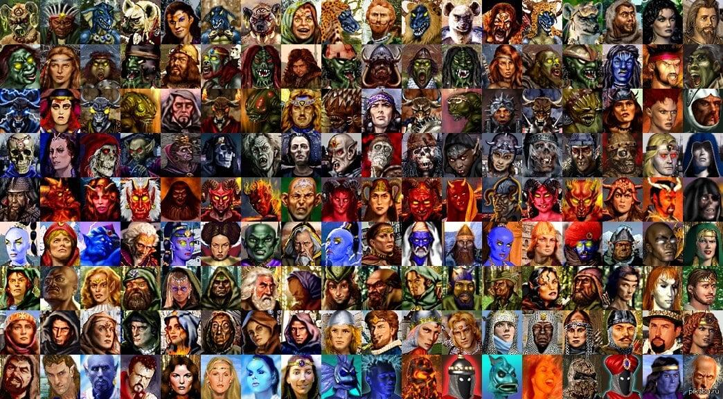 Вся информация о каждом герое в «Героях 3» – классы, характеристики, специализации