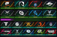 PSG.LGD, Virtus.pro, Vici Gaming, Team Secret, China Supermajor, The International, Mineski, Newbee, Dota Pro Circuit, VGJ.Thunder, Team Liquid, Optic Gaming, Winstrike, Team Serenity, J.Storm, Fnatic, Invictus Gaming, OG, TNC