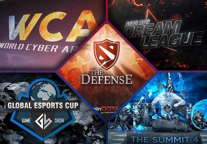 Game Show, World Cyber Arena, ASUS DreamLeague, The Defense Season 5, The Summit