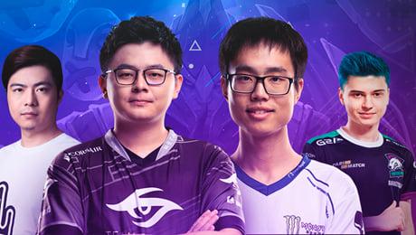Team DK, Wings, Team Secret, Virtus.pro