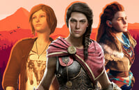 Assassin's Creed: Odyssey, Naughty Dog, Life is Strange 2, Celeste, Horizon Zero Dawn, Shadow of the Tomb Raider, Senua's Saga: Hellblade 2, The Last of Us 2, The Last of Us