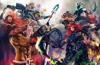 Dota 2, League of Legends, Smite, Heroes of the Storm
