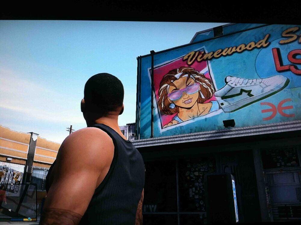 Постер DJ Tony в GTA 5