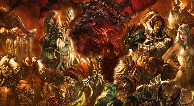 StarCraft, Hearthstone, World of Warcraft, Overwatch
