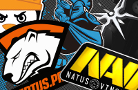 NAVI, Fnatic, Effect, TNC, Team Secret, PSG.LGD, OG, Evil Geniuses, Mineski, Virtus.pro, Team Liquid, Newbee, Complexity
