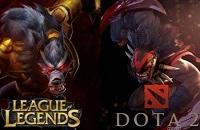 Dota 2, League of Legends, Механика