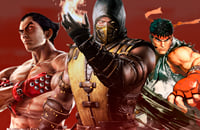 Mortal Kombat 11, Tekken 7, Street Fighter