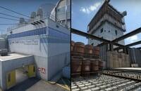 Valve, Counter-Strike: Global Offensive, Cache, Nuke, Overpass, Dust2, Mirage, Vertigo, Train, Inferno, Office, Anubis