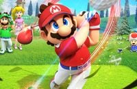 Nintendo Switch, Спортивные, Симуляторы, Nintendo, Super Mario, Mario Golf: Super Rush