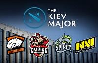 The Kiev Major, NaVi, Team Empire, Virtus.pro, Team Spirit