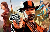 Ролевые игры, Skyrim, Red Dead Redemption, Heroes of Might and Magic 3, The Last of Us, GTA 5, Стратегии, Экшены
