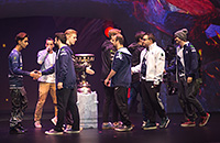 OG, Virtus.pro, The International, Newbee, Chaos, Team Secret, Evil Geniuses, Team Liquid, Team Empire, Fnatic