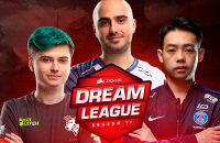 Keen Gaming, Infamous, Forward Gaming, Chaos, Team Liquid, Virtus.pro, EHOME, PSG.LGD, Ninjas in Pyjamas, NaVi, Mineski, J.Storm, Evil Geniuses, Fnatic, Team Secret, DreamLeague Season 12